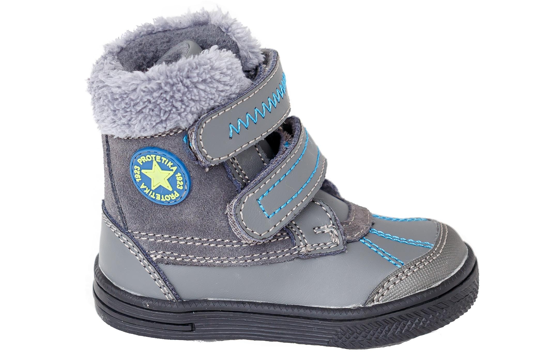 67cd736b63c Zimní obuv Protetika Frenk grey - vel.23